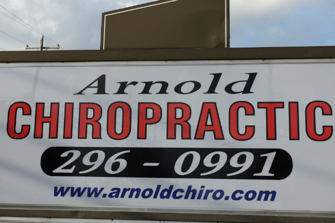 arnold Chiropractic sign